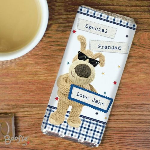 Personalised Boofle Stars Chocolate Bar